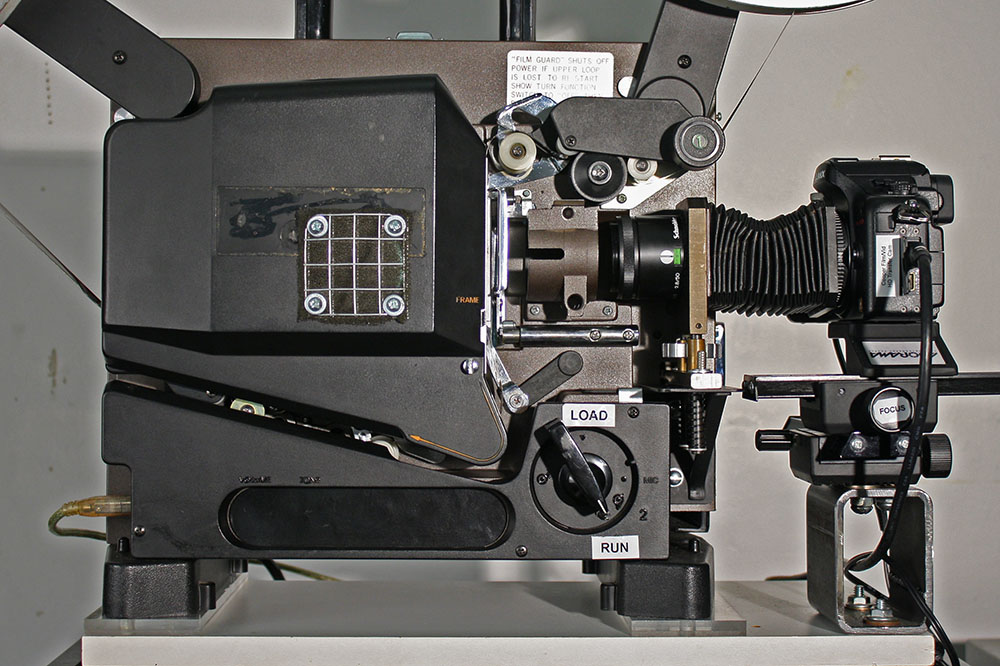 16mm Film to HD Transfer System – Zach Poff
