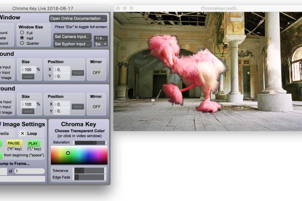 Chroma Key Live