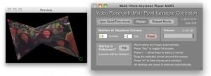 New: Multi-Point Keystone Video Player