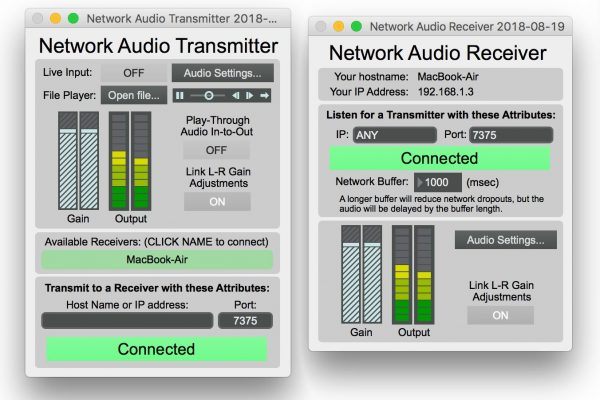 Network Audio Transmitter