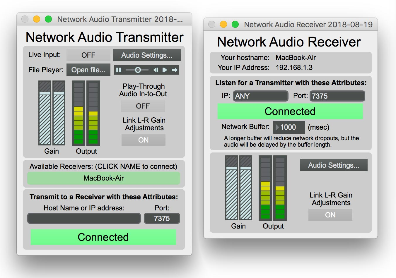 Network Audio Transmitter – Zach Poff
