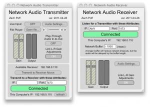 New Software: Network Audio Transmitter