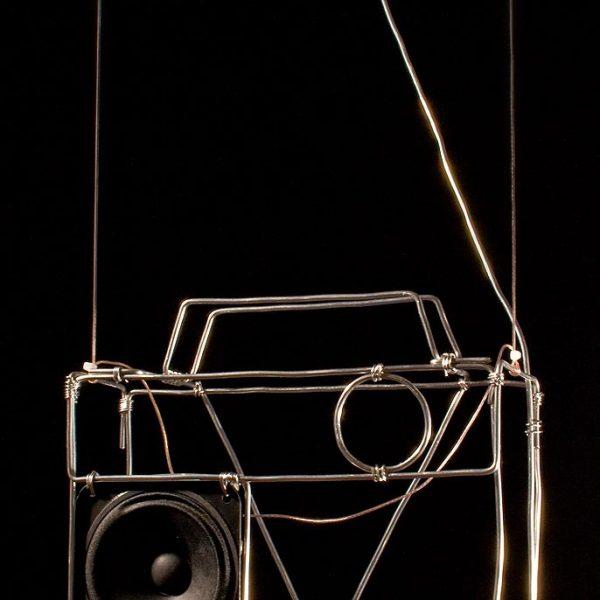 Radio Silence - Radio Sculpture #4