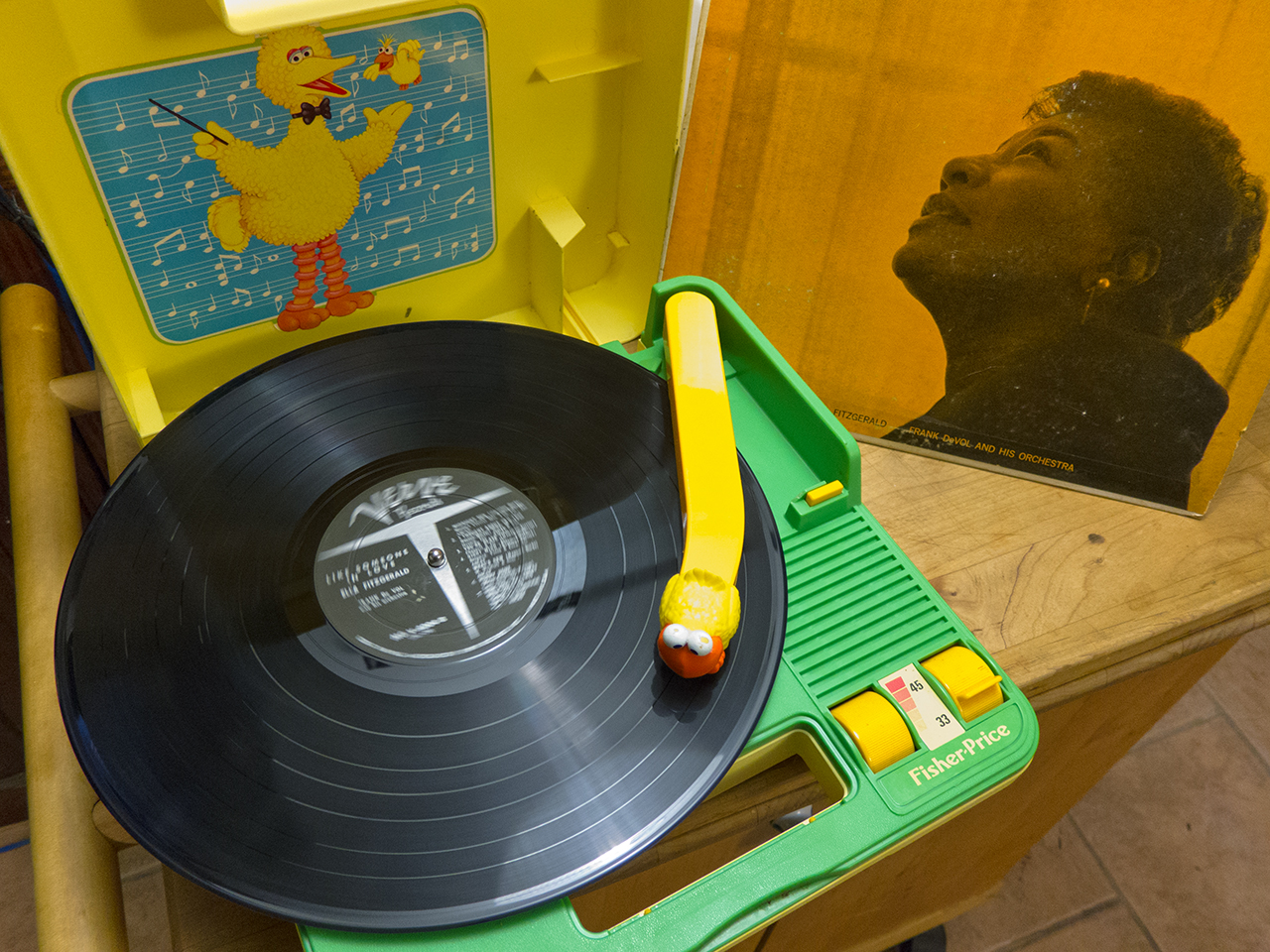 Fisher Price #816 Record Player Repairs – Zach Poff on