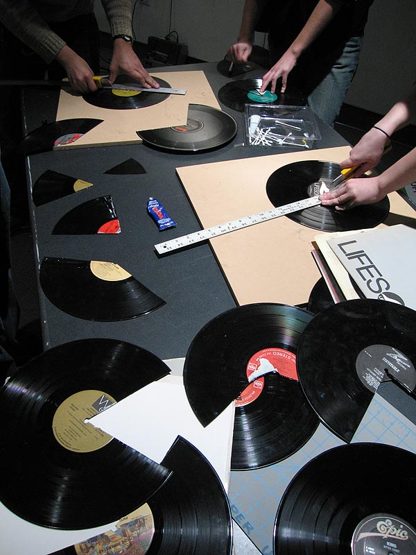 Projects in Sound Art - Cooper Union - LP Manipulation
