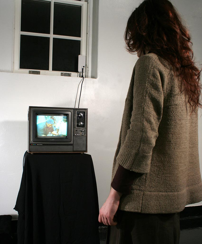 Video Silence - TV and Person