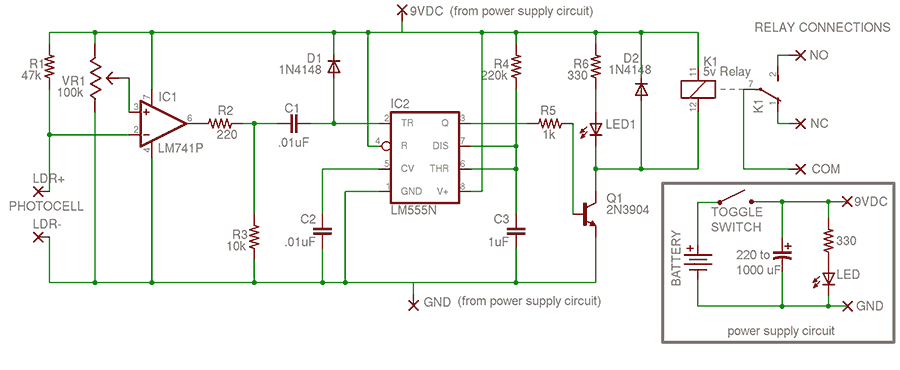 Trigger Circuit v1 (ZLP)